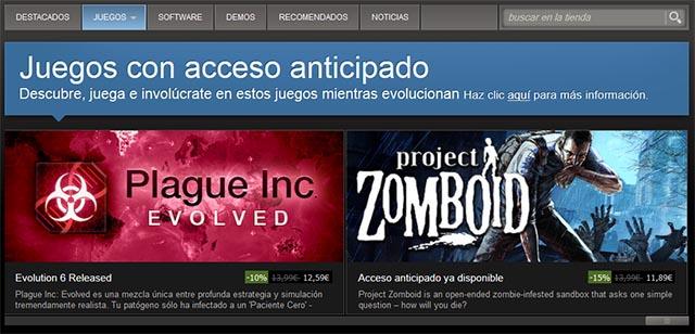 Acceso anticipado - Marketing de videojuegos