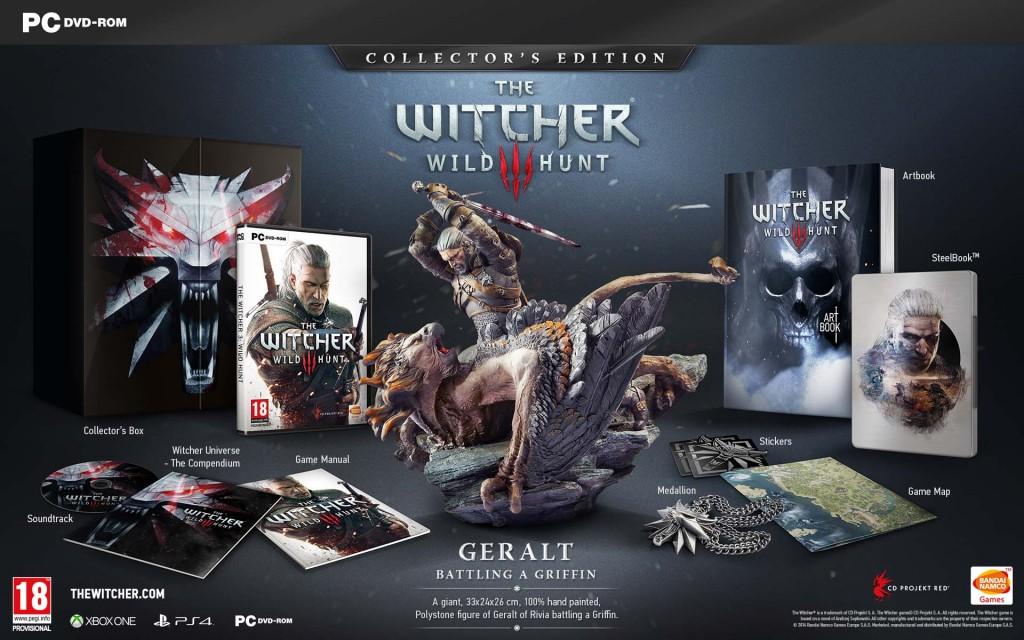 The Witcher 3 Wild Hunt - Edición Coleccionista