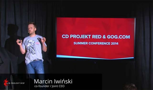 The Witcher 3 CD Projekt RED GoG Conference