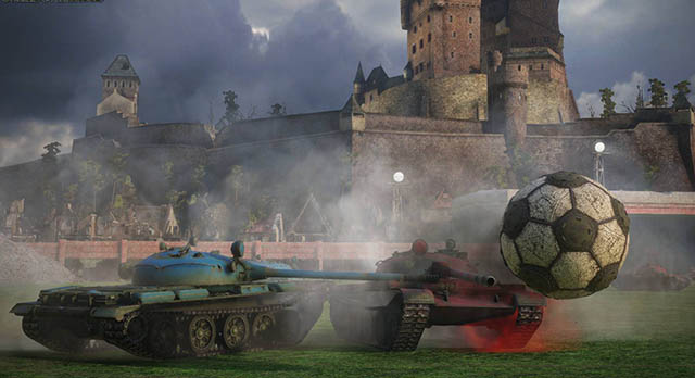 Football Battles - World of Tanks