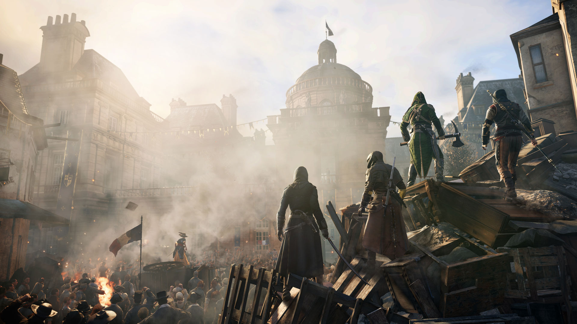 Assassin's Creed Unity se deja ver