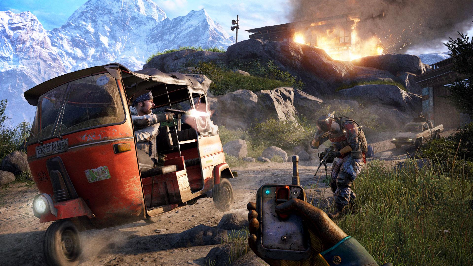 Far Cry 4 enseña su jugabilidad real en un nuevo tráiler