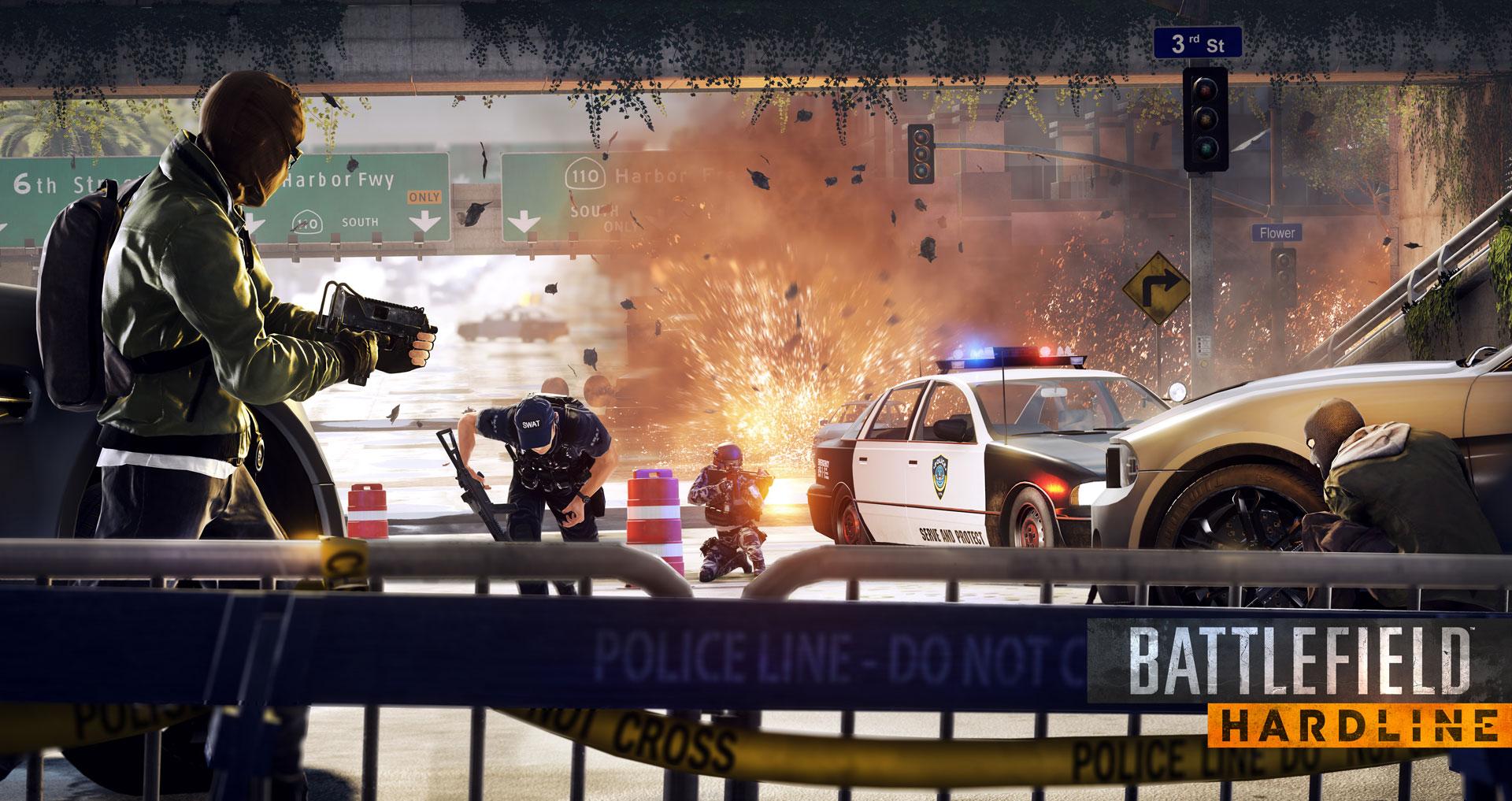Battlefield Hardline ya se ha dejado ver con jugabilidad real