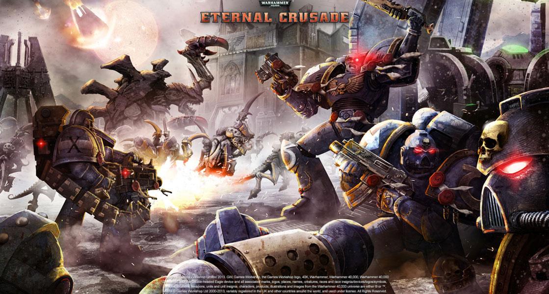 Warhammer 40K Eternal Crusade ya se deja ver