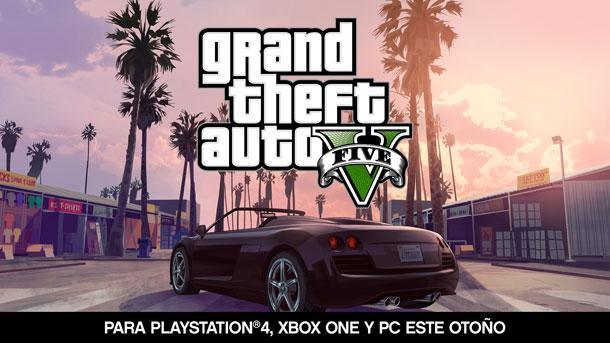 GTA V ya es oficial para PC