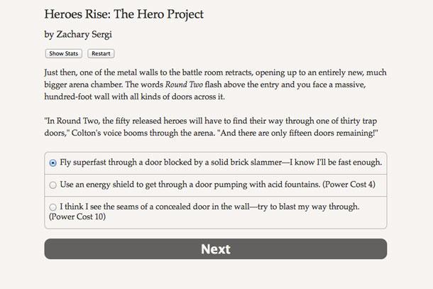 Heroes Rise, una aventura sólo con texto en Steam