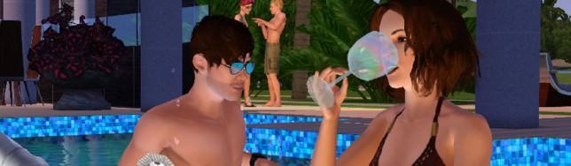 Piscinas y bebés en Los Sims 4