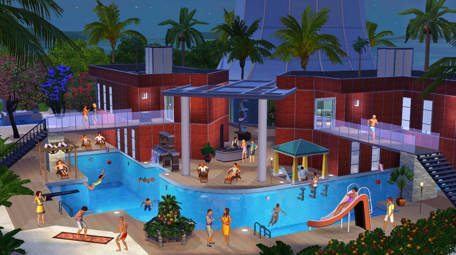 Ni piscinas ni bebés en Los Sims 4