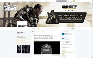 Call of Duty - Advanced Warfare en Twitter - Marketing de Videojuegos