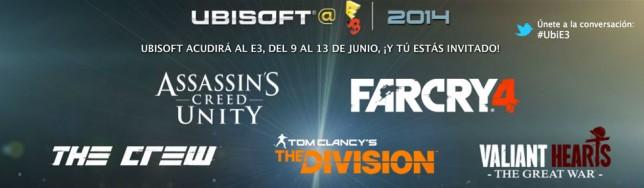 Sigue la conferencia de Ubisoft en el E3 2014