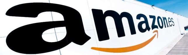 Logotipo de la sucursal española de Amazon.