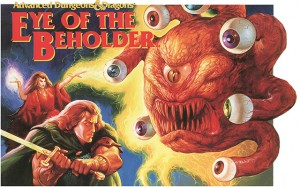 D&D EYE OF THE BEHOLDER