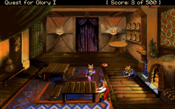 Quest for Glory era un anticipo de lo que fue King's Quest VIII.