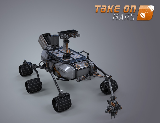 Take on Mars es un simulador total de la exploración de Marte.