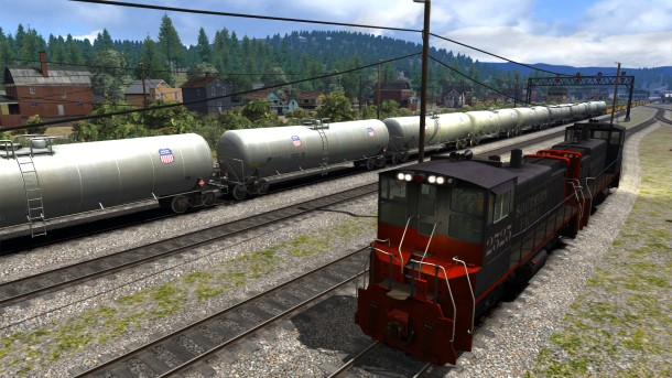 El simulador de trenes Train Simulator 2014.