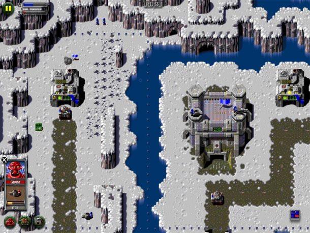 El remake de Z dispone de gráficos en alta resolución.