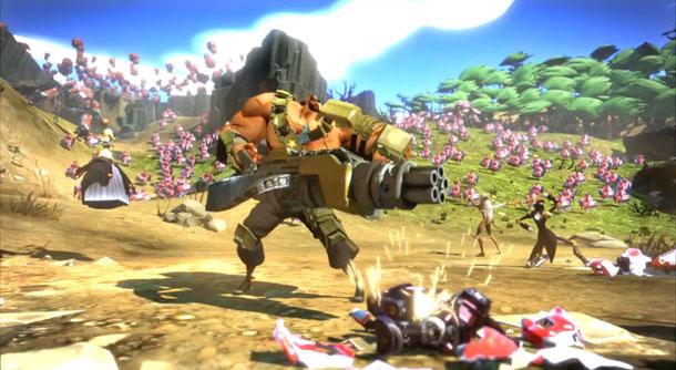 Battleborn es lo nuevo de Gearbox y 2K en acción multijugador