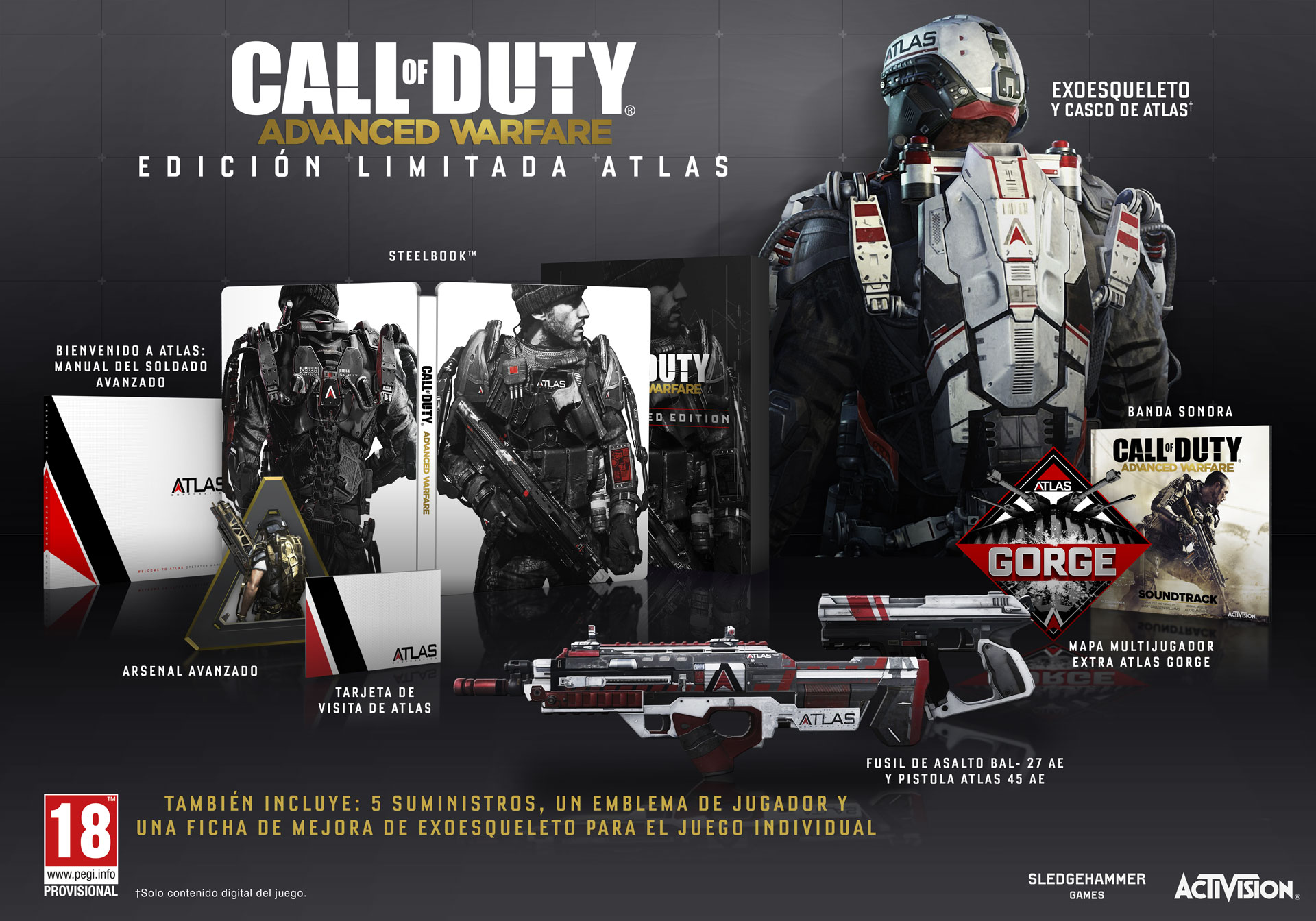 La Edición Atlas de Advanced Warfare