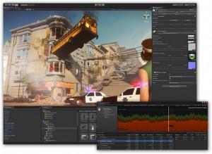 Editor de Unity - programación