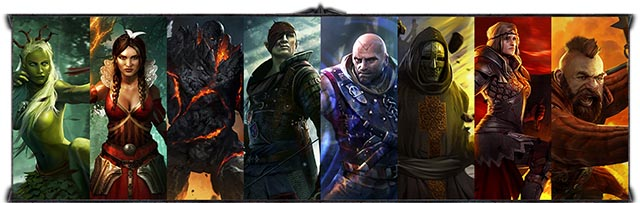 The Witcher Battle Arena - Personajes