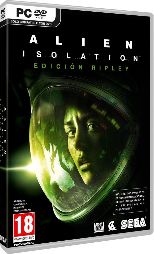 Edición Ripley de Alien Isolation