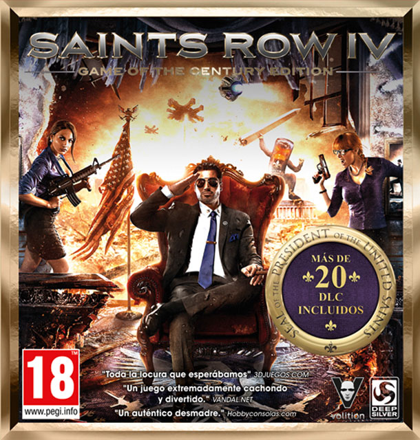 Saints Row IV Edición Game of the Century
