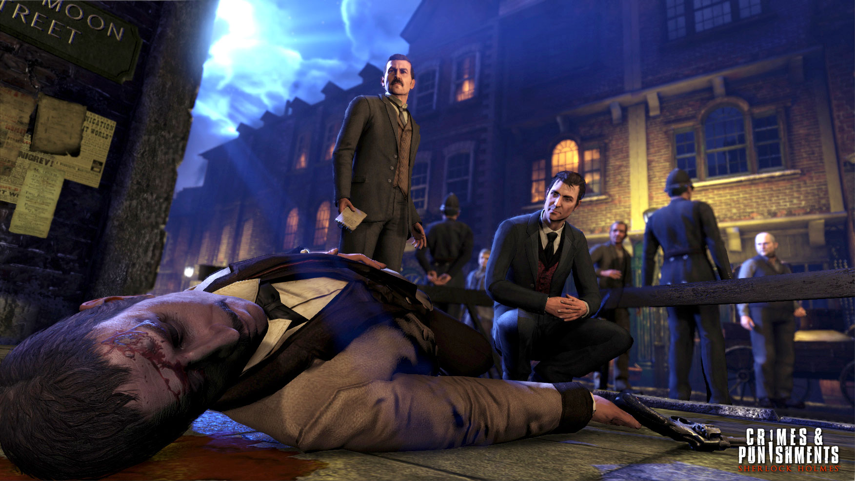 Sherlock Holmes Crimes & Punishments muestra un mega tráiler