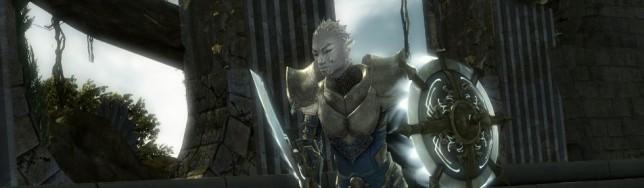 Un personaje típicamente asiático de Guild Wars 2.