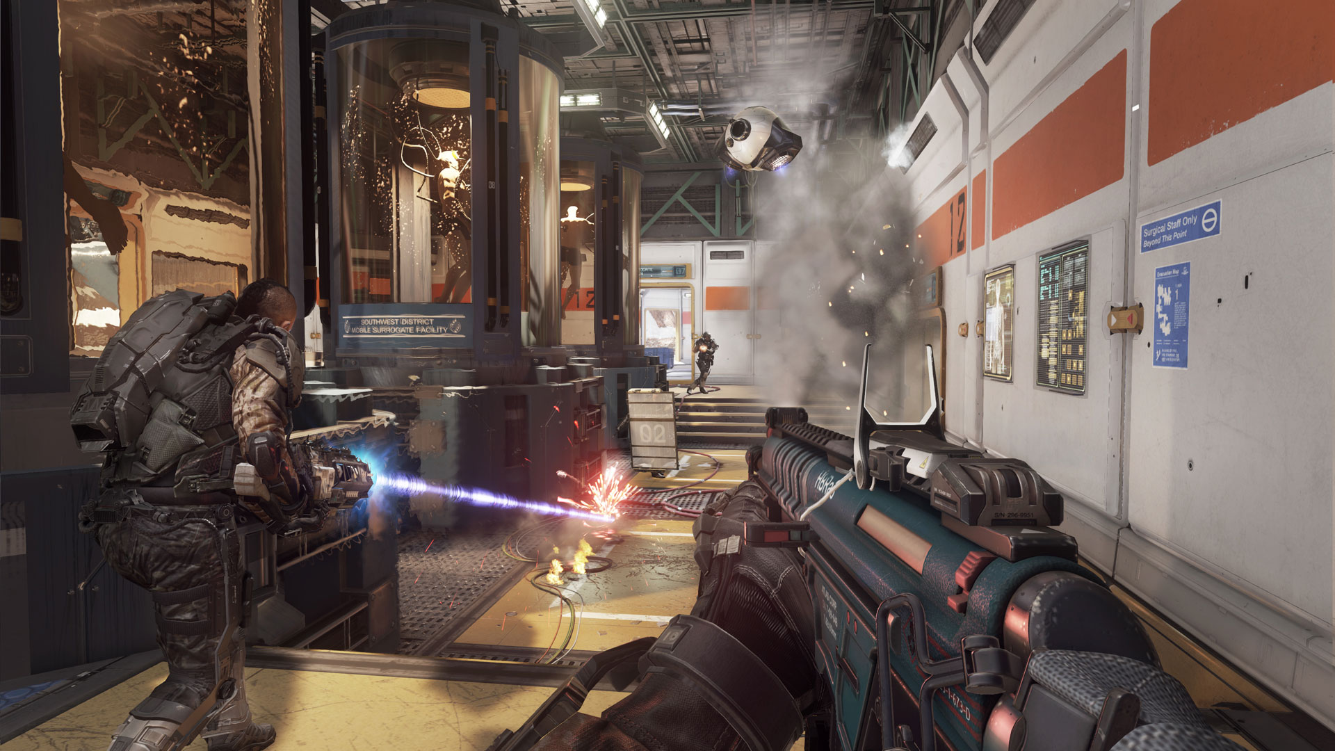El multijugador de Advanced Warfare