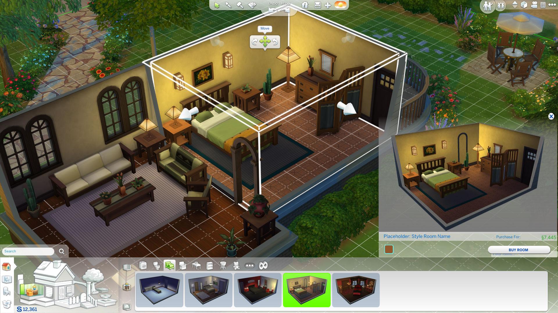 Diseña tu casa en Los Sims 4