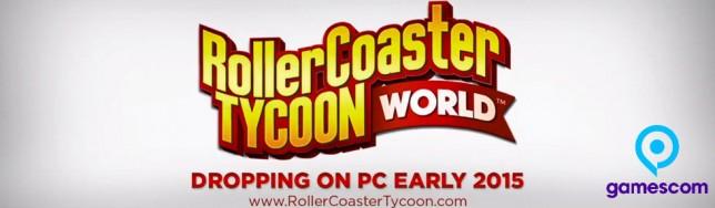 RollerCoaster Tycoon World anunciado en Gamescom 2014