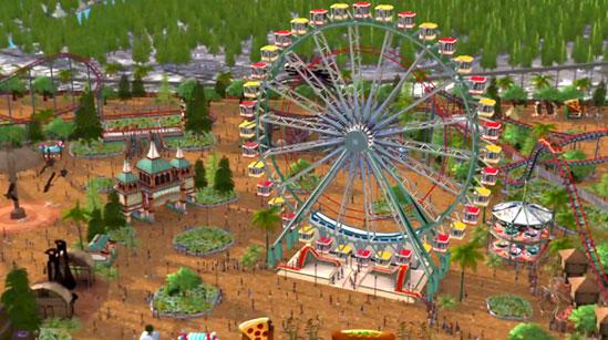 RollerCoaster Tycoon World anunciado para 2015