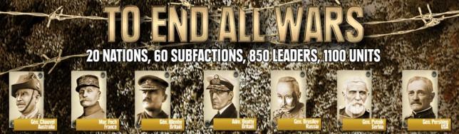To End All Wars, estrategia por turnos en la Primera Guerra Mundial