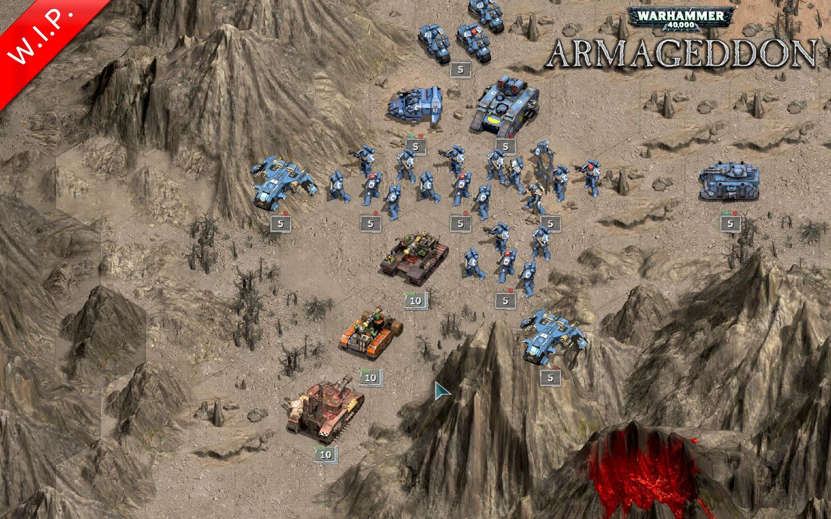 Warhammer 40.000 Armageddon arranca su fase beta