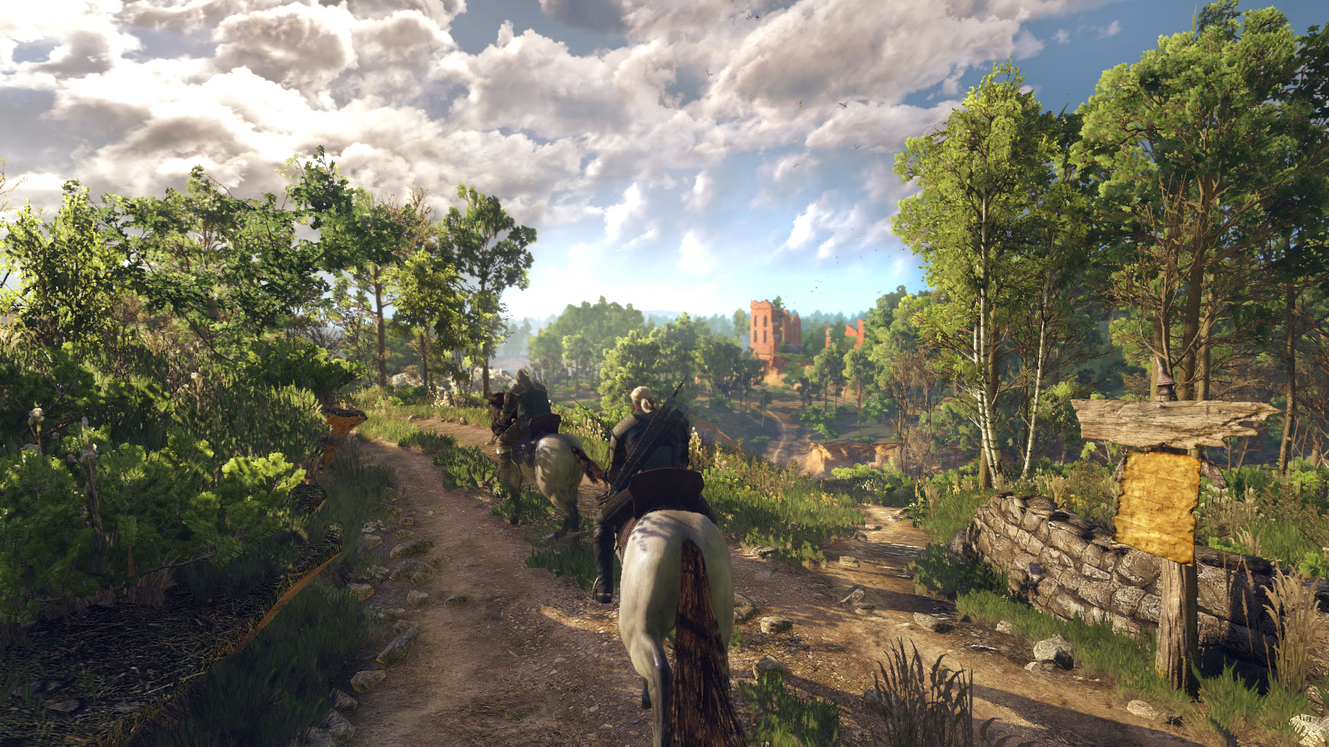 The Witcher 3 Wid Hunt vuelve a asombrar en Gamescom 2014