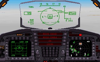 F-15 Strike Eagle III - MPS, MicroProse - DOS