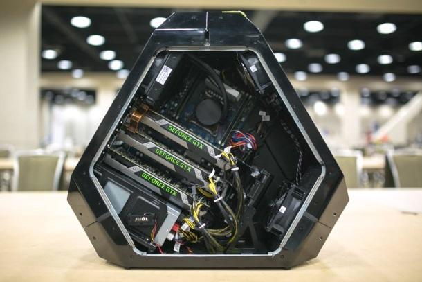 Area-51 es un increíble nuevo diseño de Alienware con una orientación funcional.