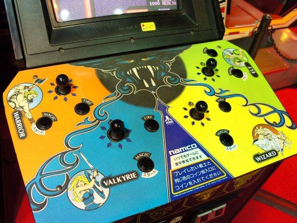 Gauntlet fue diseñada por Ed Logg, diseñador también de Asteroids.