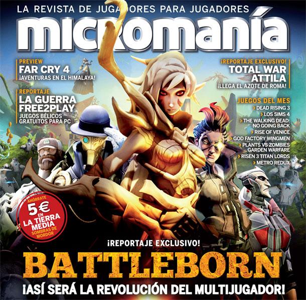 Battleborn en Micromanía