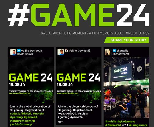 GAme24 el próximo 18 de septiembre