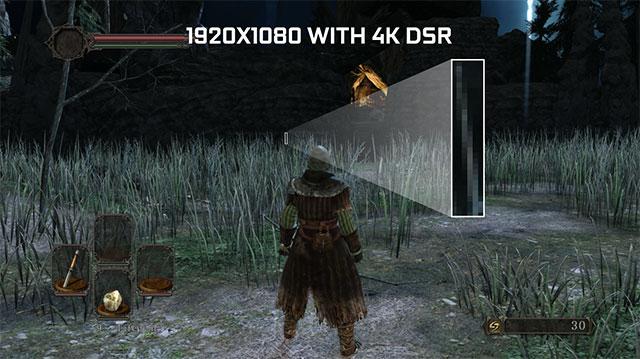 GTX 980 con DSR activado y desactivado