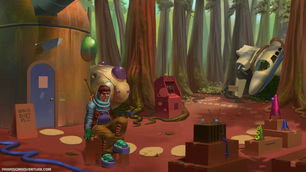Paradigm recupera el humor de los clásicos de LucasArts