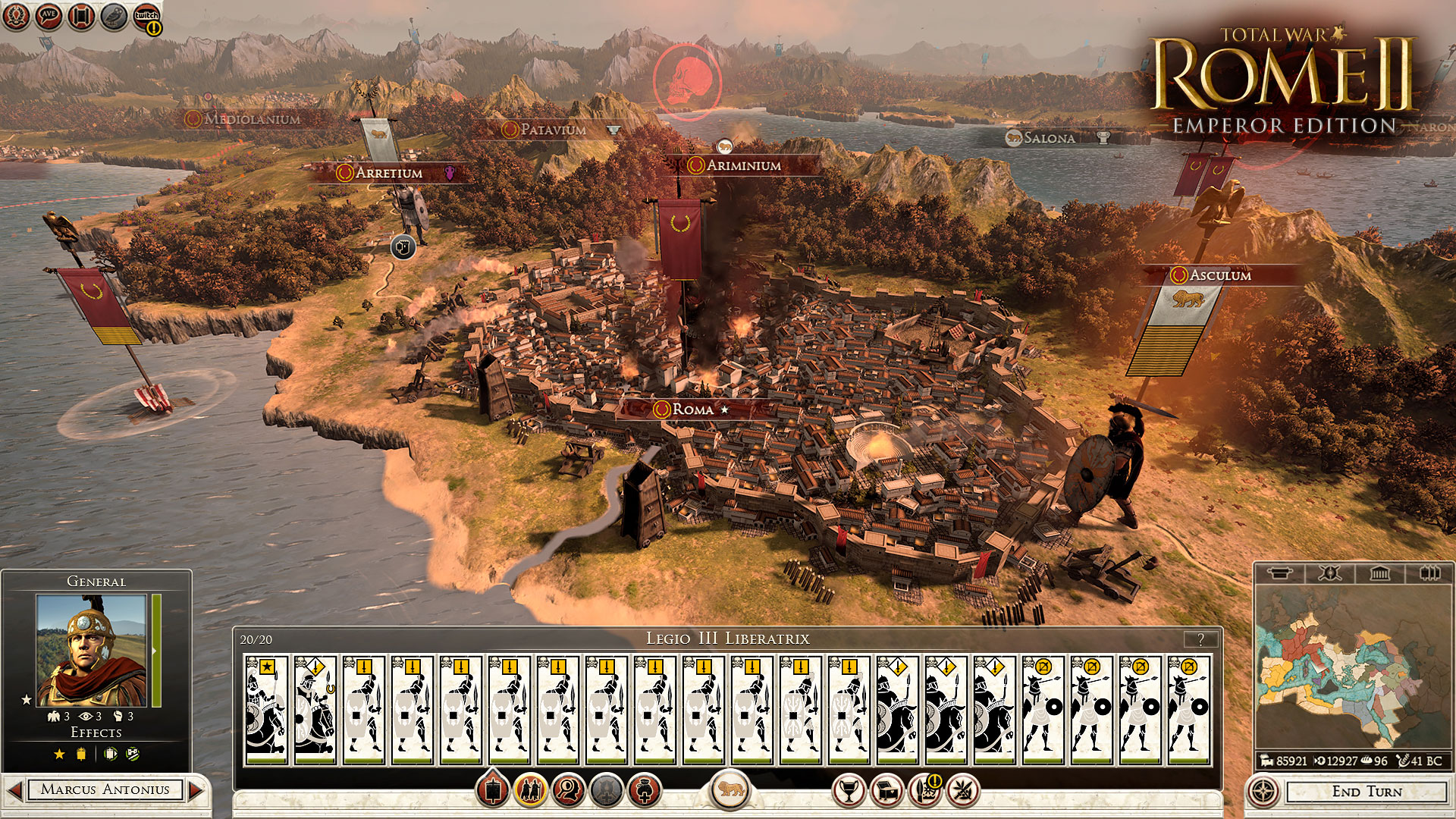 Rome II Emperor Edition llega el 16 de Septiembre