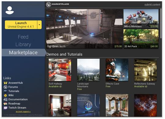 Unreal Engine 4 gratis para universidades