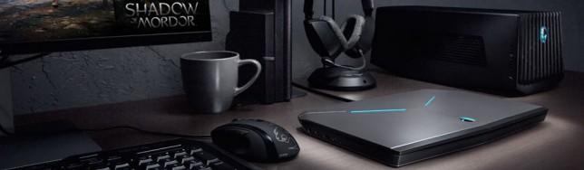 Alienware 13 con Graphics Amplifier, un escritorio completo.