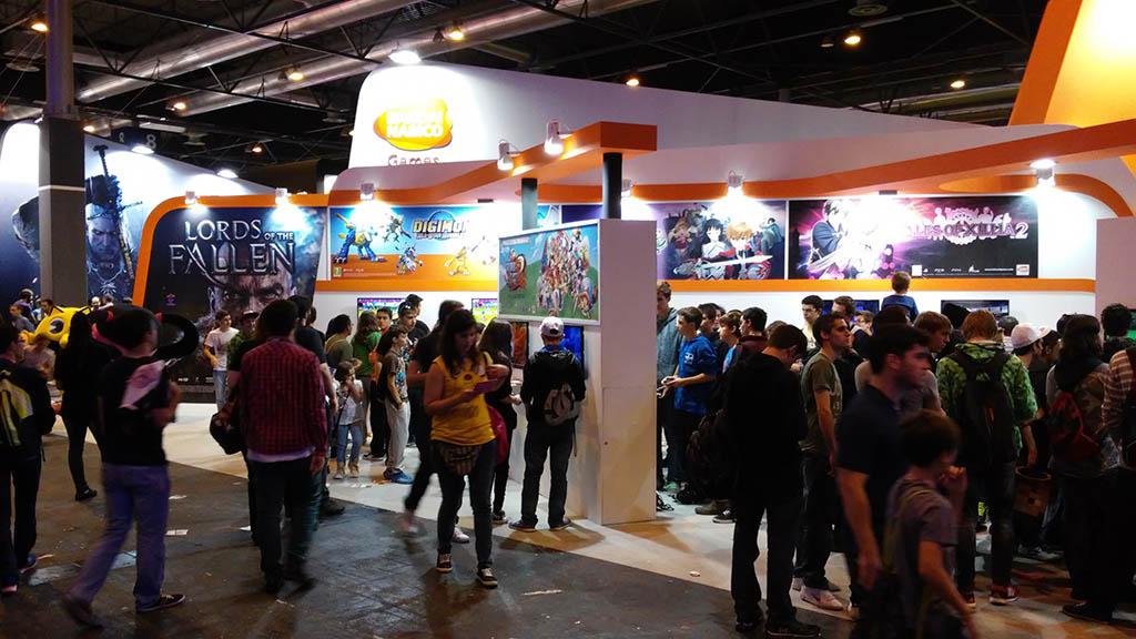Madrid Games Week 2014 - Bandai Namco