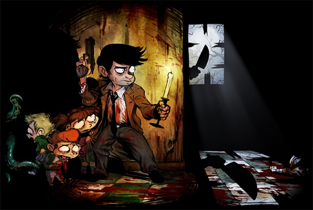 2Dark es un juego de Frédérick Raynal, creador de Alone in the Dark.