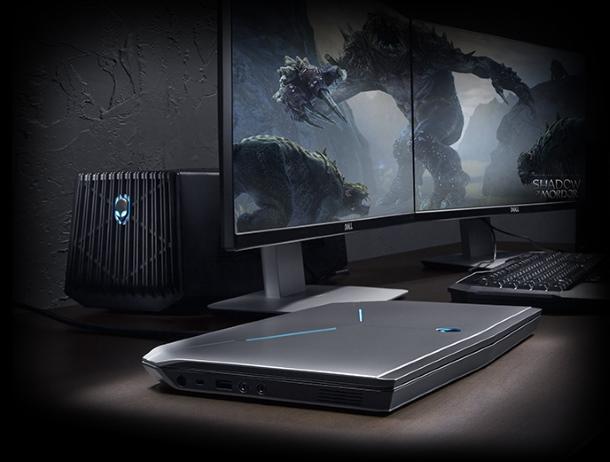 Alienware Graphics Amplifier permitirá mejorar el portátil a lo largo de su vida.