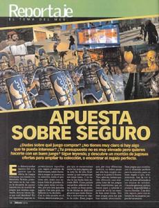 Reportaje - Juegos de la temporada - MICROMANIA 106