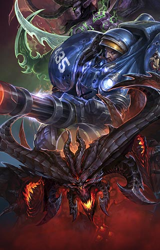 Heroes of the Storm - WarCraft